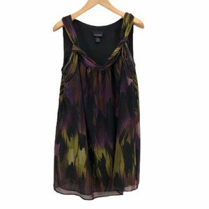 Lane Bryant Womens Shift Dress Multicolor Black 20